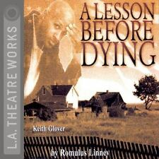 A Lesson Before Dying by Romulus Linney (2002, CD, Unabridged) Brand New! Rare!