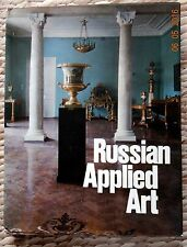 Rare Russian Applied art of the 18th - early 20th century album Russian  museum