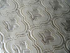 90X90 cm Tischdecke Beige Vinyl TISCHDECKE SCHUTZDECKE Blumenmuster Quadrat Neu