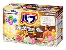 BABU bub european spa 4 types x 3pcs bath bombs relaxation KAO