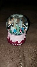 New York City Princess Pink Snow Globe #50624 3.5 Inches Tall