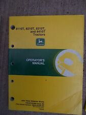 1990s John Deere 8110T 8210T 8310T 8410T Tractor Operator Manual More In Store R