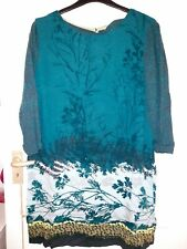 White Stuff Autumnal Tunic Dress Size 16 Very Good Condition