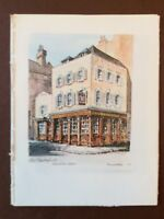 J1a Ephemera Picture 1970s Pub London Old Chesterfield Shepherd Street