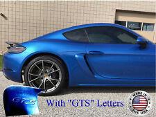 2017-2019 Porsche Boxster 718 Side Air Scoop Vents w/GTS Letters (UNPAINTED)