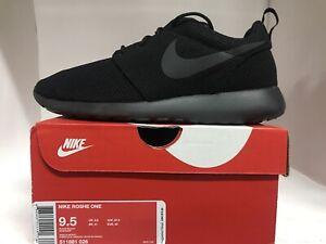 Nike Roshe One Black Mens Size 9.5