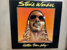 Stevie Wonder Hotter Than July Excellent Vinyl LP Record STMA 8035 Motown
