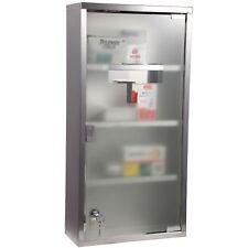 HOMCOM Medicine Cabinet Houseware Stainless Steel Medicine Cabinet Glass Door  sc 1 st  eBay & Bathroom Modern Medicine Cabinets for sale | eBay