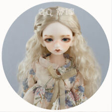 QQ-01 BJD Doll Synthetic Mohair Wig Light Gold 1/3 1/4 1/6 1/8 1/10 Dolly Planet