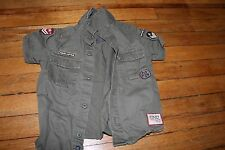 Baby Clothes- Rolling Thunder Button Down Army Style Shirt size 9-12 month