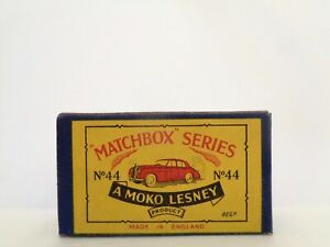 box-1958 MOKO Lesney MATCHBOX No.44 'ROLLS-ROYCE SILVER CLOUD'-see photos & more