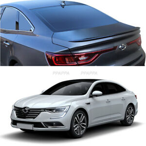 New Rear Trunk Wing Lip Space Spoiler for 2017+RENAULT Talisman/SM6 Urban Gray