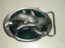 C & J Belt Buckle  Whale Design Buckle great condition make offer