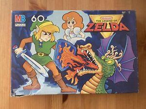 Vtg RARE 1988 The Legend of Zelda LINK Jigsaw Puzzle Nintendo INCOMPLETE '80s!