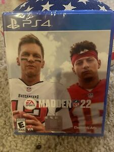 Madden NFL 22 (PlayStation 4, Physical) *****BRAND NEW & FACTORY SEALED***** ps4