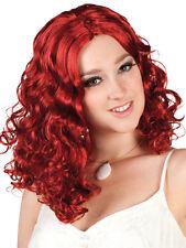 Rosanna Lockenperücke rot NEU - Karneval Fasching Perücke Haare