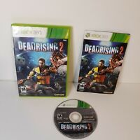 Dead Rising 2 (Microsoft Xbox 360, 2010) Video Game Rated M17+  Complete Used  C