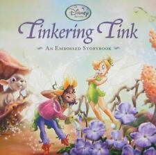 Disney Fairies Tinkering Tink by Elle D. Risco Embossed Children's Youth Book