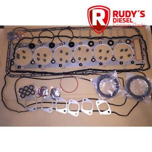 FULL GASKET SET Isuzu 6HK1X 7.8, FTR/FRR/FVR and GMC T6500/T7500 trucks diesel
