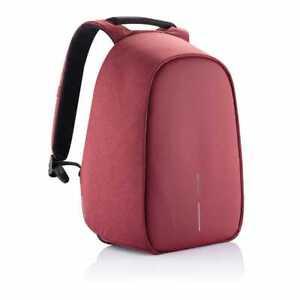 XD Design Bobby Hero Regular Anti Theft Travel Laptop Backpack w/ USB Port, Red