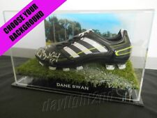 ✺Signed✺ DANE SWAN Football Boot COA Collingwood Magpies 2018 Guernsey