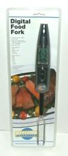 """Digital Food Fork 16"""" Great For kitchen, BBQ, Grill, LCD Screen Rare, Med, Well"""