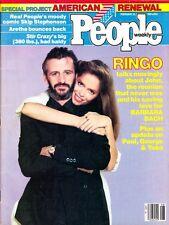 People Weekly Magazine February 23 1981 Ringo Starr Barbara Bach Update On Paul