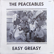 THE PEACEFUL Easy Greasy LP E & P RECORDS EP 1209 Private Jazz SEALED