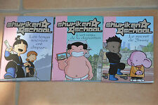 Lot 3 livres SHURIKEN SCHOOL  - collection bibliothèque rose