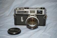 Canon 7 et objectif 50mm f:1,4 (39mm à vis Leica)