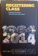 Registering Class: Socialist Register 50 Years 1964-2014 new paperback