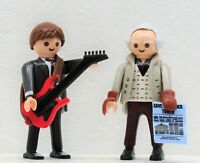 MARTY McFLY + DR. EMMETT BROWN 1955 PLAYMOBIL zu BACK TO THE FUTURE Movie NEU