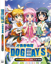 DVD ANIME DOG DAYS Complete TV Series Sea 1~3  Vol.1-39 End Eng Subs + FREE DVD