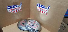 American Racing Center Caps (2)