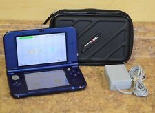 Nintendo New 3DS XL Galaxy Handheld Console Bundle Pre-owned Free Shipping