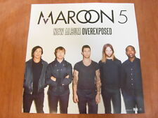 MAROON 5 - Overexposed (2 sided) [OFFICIAL] POSTER *2012 NEW*