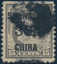 SHANGHAI #K12 VF+ USED WITH NATURAL S.E. TOP CV $230.00 BQ9696