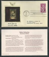 # 1932 BABE ZAHARIAS, AMERICAN ATHLETE 1981 Gold Foil Cover