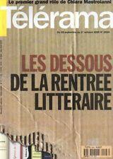 """telerama n°2593 """"helene et les garcons"""" chiara mastroianni l'opera bastille 1999"""
