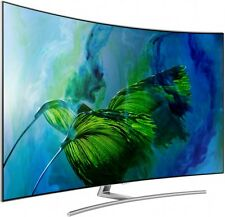 "Samsung - Series 8 - 65"" Curved UHD QLED TV - QA65Q8CAMWXXY - 2017 Model"