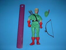 DC COMICS HASBRO SILVER AGE GREEN ARROW  9 INCH 1999
