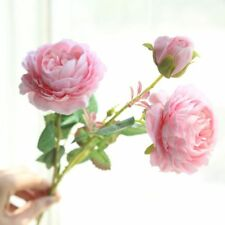 3 roses artificial flowers home decoration wedding wall fake flowers