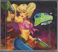 SPACE BUNNIES MUST DIE PC GAME! [1998] JEWEL CASE!  NEAR MINT+