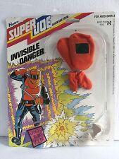 1970s Classic Super Joe Invisible Danger Card With Hood, Gloves GI Joe