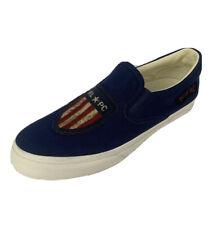 Polo Ralph Lauren Thompson USA Flag Shield Men's Size 8.5 R.L.P.C. Shoes NEW