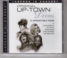 (HH870) Original Up-Town Divas, 21 Unforgettable Tracks - 2005 CD