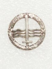 Denmark - Combat Swimmer Badge, silver metal
