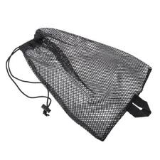 Quick Dry Swim Dive Net Bag Drawstring Type Water Sport Snorkel Storage Flippers