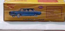Atlas Dinky Toys 552 - Chevrolet Corvair - Green - Norev Made in China