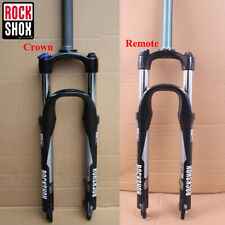 "RockShox 26"" MTB Mountain Bike Suspension Fork Remote/Manual Lock Rebound 100mm"